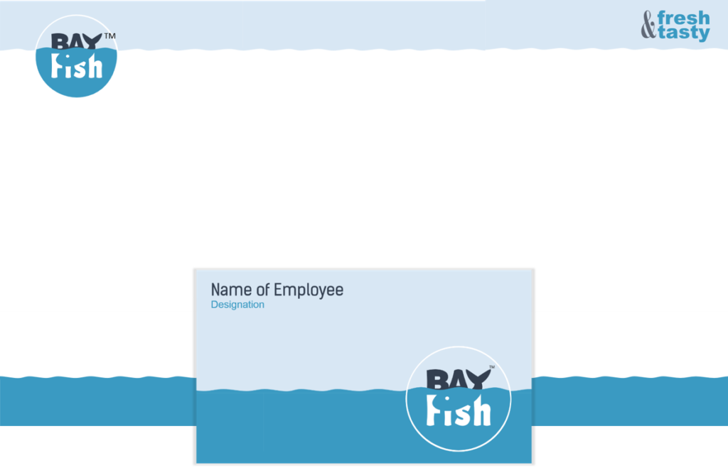 Print Stationery BayFish